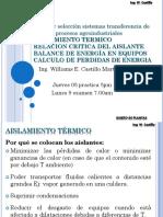 Diseño y Selección Sistemas Transferencia de Calor en Procesos Agroindustriales II