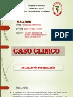 Caso Clinico Malation Toxcologia