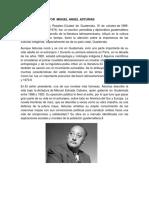 Biografia Del Autor Miguel Angel Asturias