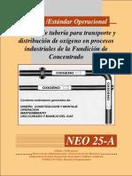 113542491 Sistema de Tuberia de Transporte de Oxigeno en Procesos Industriales de La Fundicion de Concentrado