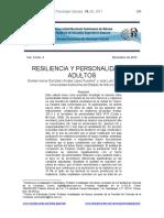 2011 - i - Resiliencia y Personalidad en Adultos - Mex