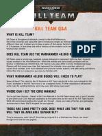 KIll Team QA