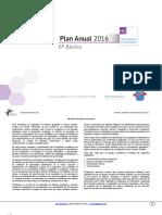 Planificacion Anual Historia 6basico 2016