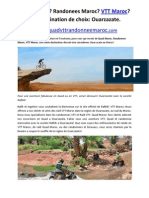 Quad Maroc Randonees Maroc VTT Maroc