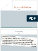 Teoria de Probabilidades