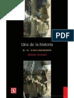 Collingwood, R.G.-idea de La Historia, La Historiografía Grecorromana