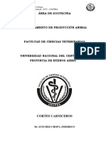 Cortes Carniceros - Zootecnia