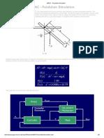 MRAC - Pendulum Simulation