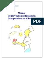 Manual de Prevencin de Riesgos en Manipuladores de Alimentos