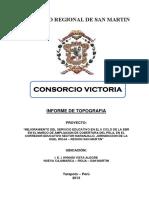 INFORME - I.E. N° 00450 - VISTA ALEGRE
