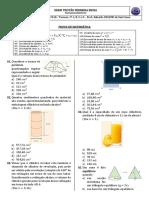 Prova de Matemática - II Bim - (2018)