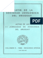 Boletín Sociedad Zoológica