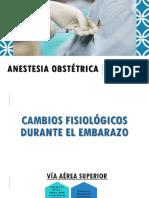 Anestesia Obstétrica