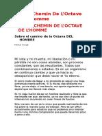23642754 Conge Michel Sobre El Camino de La Octava Del Hombre