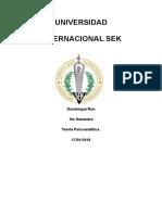 La Estructura Del Aparato Psíquico y Su Relación Con El Lenguaje