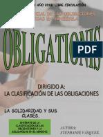 Revista Digital Clasificacion de Las Obligaciones