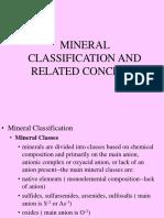 Mineral Classif