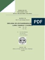 Geología de los cuadrangulos de Lima, Chancay y Chillón..pdf