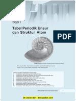 Bab 1 Tabel Periodik Unsur Dan Struktur Atom