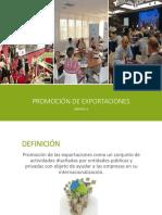 Promoción de las exportaciones