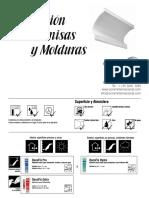 Instalacion de Cornisas y Molduras