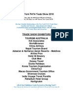 New York PATA Trade Show 2018