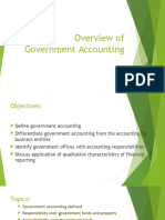 Overview of Government Accounting