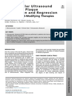 Intravascular Ultrasound Studies of Plaque Progression and Regression