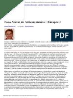 O Holodomor, Novo Avatar Do Anticomunismo Europeu
