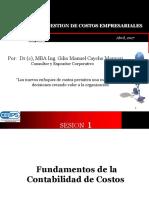 Modulo i Gestion de Costos Empresariales Sesion 1 y 2