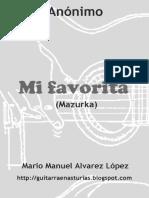 Anónimo. Mi favorita (Mazurka).pdf