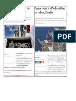 Pemex Vende Repsol y Compra Astillero Español