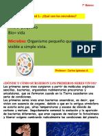 Ciencias 7to Basico Microorganismos