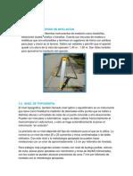 Topografia Materiales y Metodos