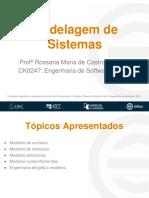 19 e 22 - Modelagem de Sistemas