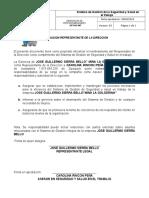 SST-AC-007 REPRESENTANTE POR LA DIRECCION.doc