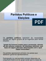 Partidos Políticos e Eleições