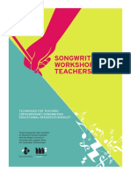 Songwriting Workshops Educational Resources Final