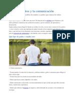 Tipos de Padres y La Comunicación
