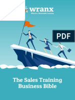Sales Training Business Bible
