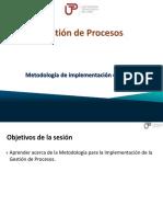 gestión por procesos