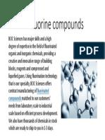 Fluorine Compounds