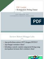303 Lecture02-Komponen Dasar Swing