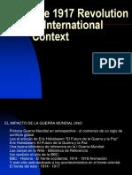 The 1917 Revolution in International Context
