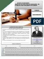 INST MACHADODE ASSIS 212 Caderno de Prova Enfermeiro