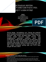 PERUBAHAN SISTEM KARDIOVASKULER PADA USIA LANJUT (GERONTIK.pptx