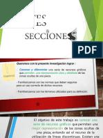 Exposición de Cortes y Secciones