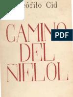 Teófilo Cid - Camino del Ñielol