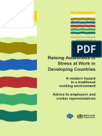 stress awareness at workplace in develoving country.pdf