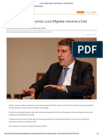Luca D'Agnese renuncia a Enel Américas - Diario Financiero